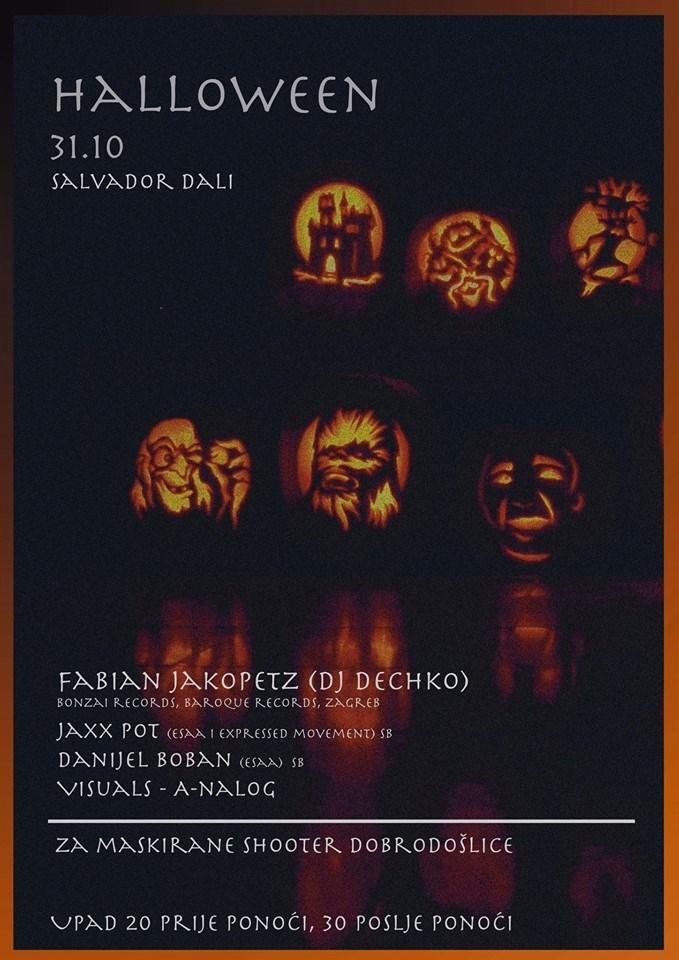 Live @ Salvador Dali, Sl. Brod